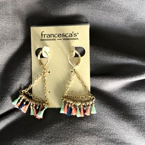 Francesca's dangle earrings